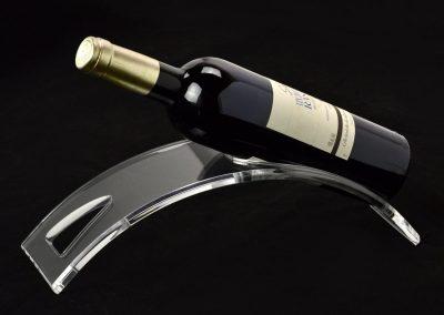 expositor para vino hecho en metacrilato